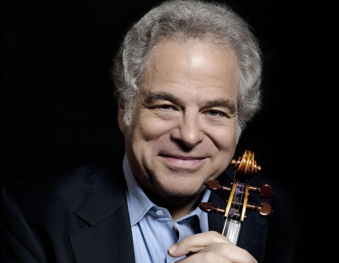 Image of Itzhak Perlman in a promotional portrait