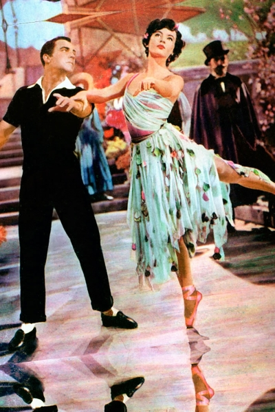 Image of a promotional still photo from the film An American in Paris