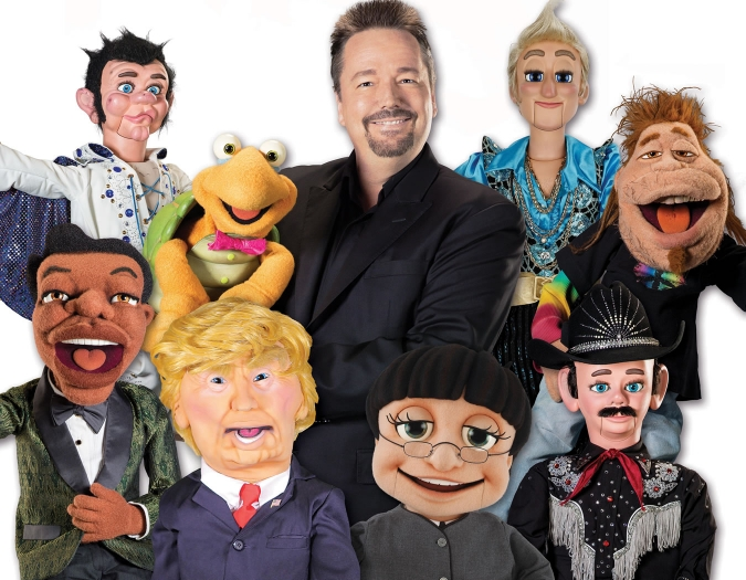 Image of Terry Fator in a promotional portrait