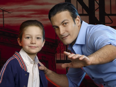 Young Calogero and Sonny - A BRONX TALE