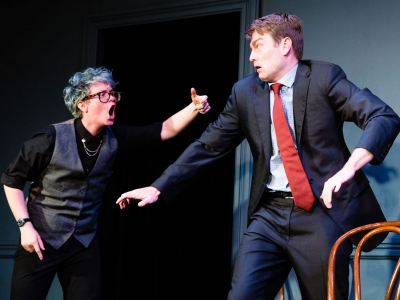 Image of The Second City on stage during performance
