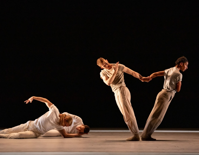 Image of Hubbard Street Dance on stage during a performance