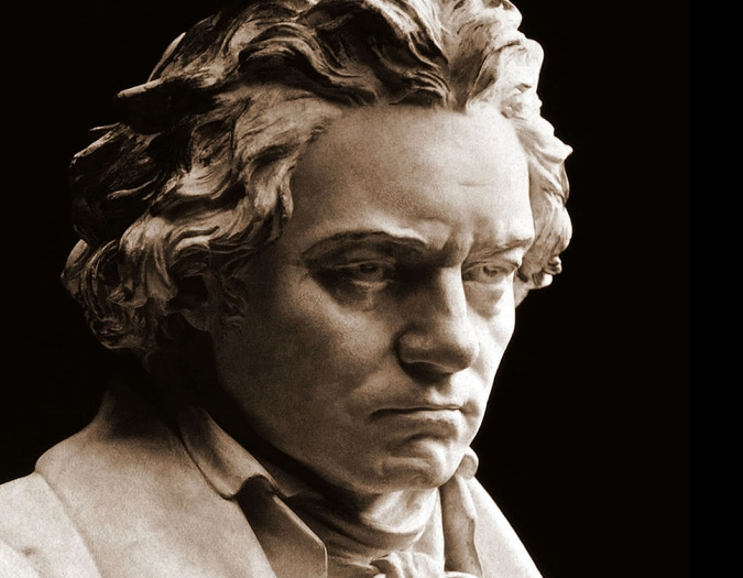 Historical image of Beethoven