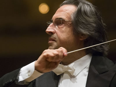 Image of Ricardo Muti, conductor of the Chicago Symphony Orchestra