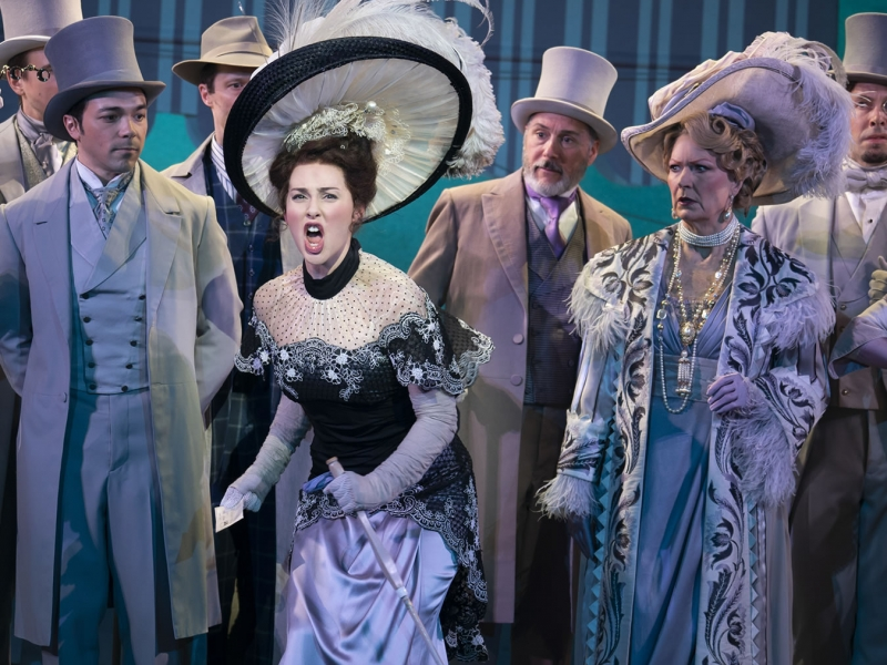 Image of Broadway production of My Fair Lady on stage during performance
