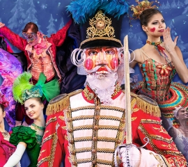 Image of The Nutcracker as presented by the Moscow Ballet