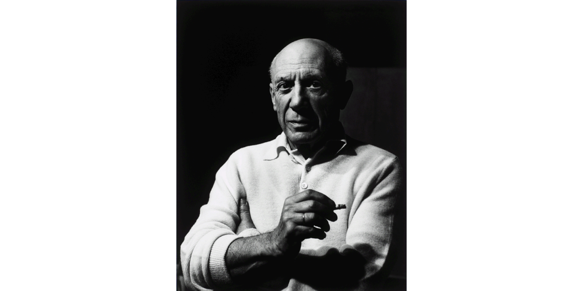 Lucien Clergue (French, 1934-2014). Picasso with Cigarette, Cannes