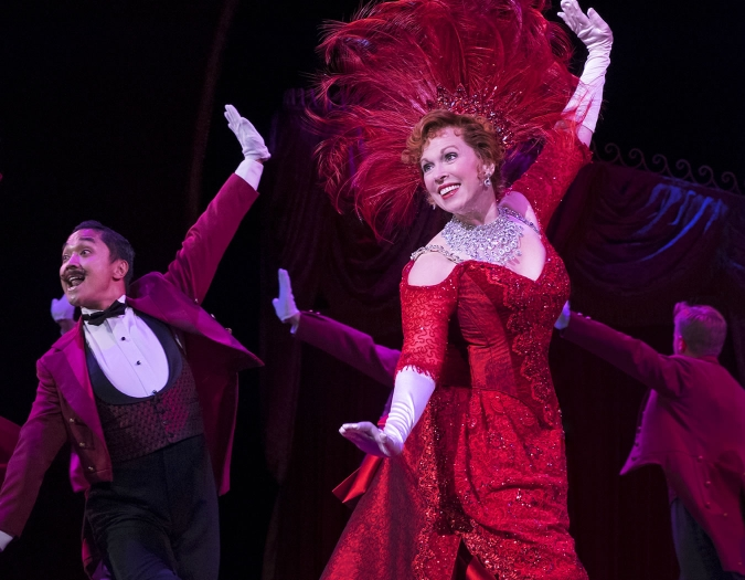 Carolee Carmello in Hello, Dolly! National Tour