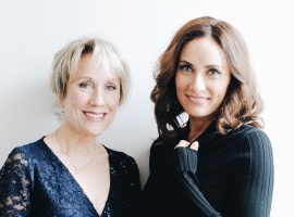 Image of Laura and Linda Benanti in a promotional portrait