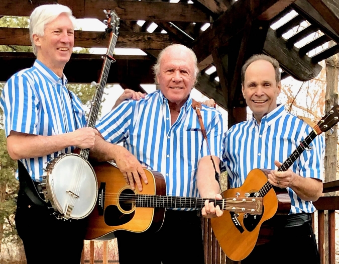 Image of the Kingston Trio in a promotional portrait