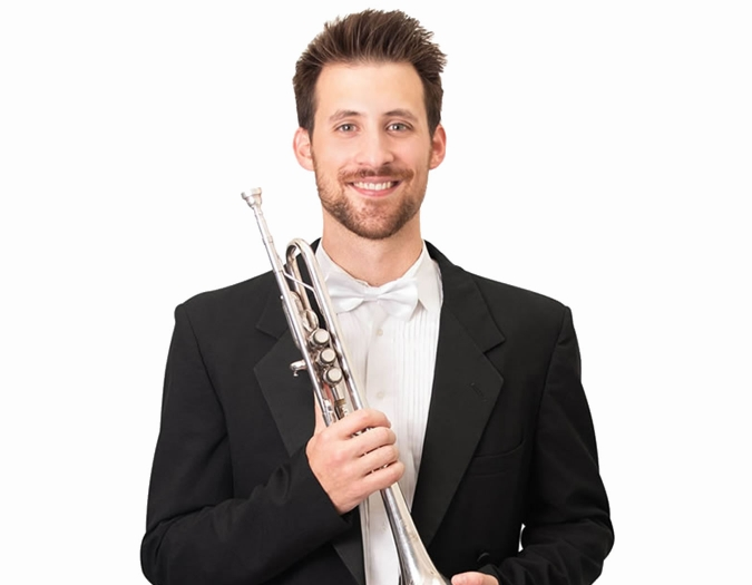 Image of Ansel Norris, trumpet for the Naples Philharmonic