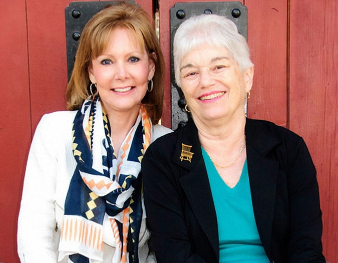 Authors Debbi Kent and Joan Suwalsky