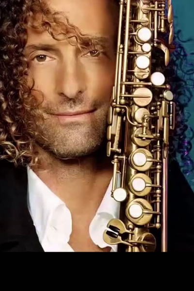 Image of Kenny G in a promotional portrait