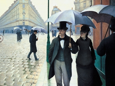 Caillebotte; Paris Street, Rainy Day