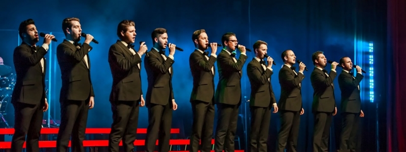 Image of The Ten Tenors in a promotional portrait