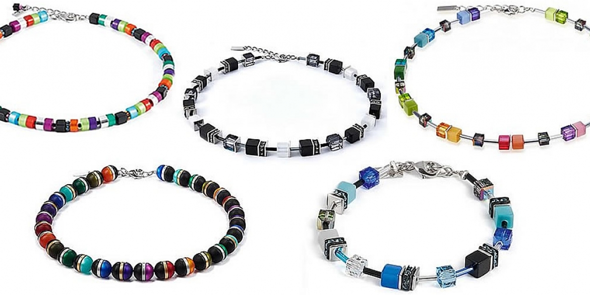 Coeur de Lion jewelry combines minimalistic design with unusual color combinations, gemstones and pressed glass, making them elegant, exciting and timeless.
