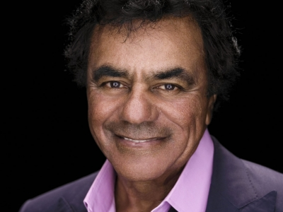 Image of Johnny Mathis in a promotional portrait