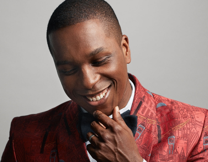 Image of Leslie Odom, Jr. in a promotional portrait