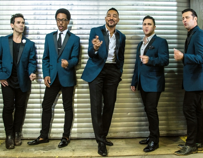 Image of The Doo Wop Project in a promotional portrait