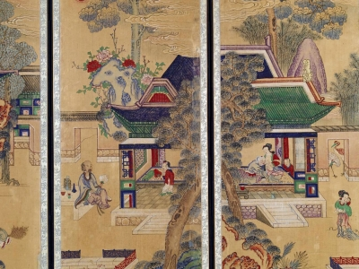 Royal Screen Paintings of the Joseon Dynasty from 1892-1910