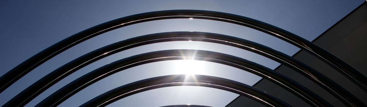 Image of artistic sculpture in the sun at Artis—Naples