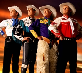 Image of Riders in the Sky in a promotional portrait